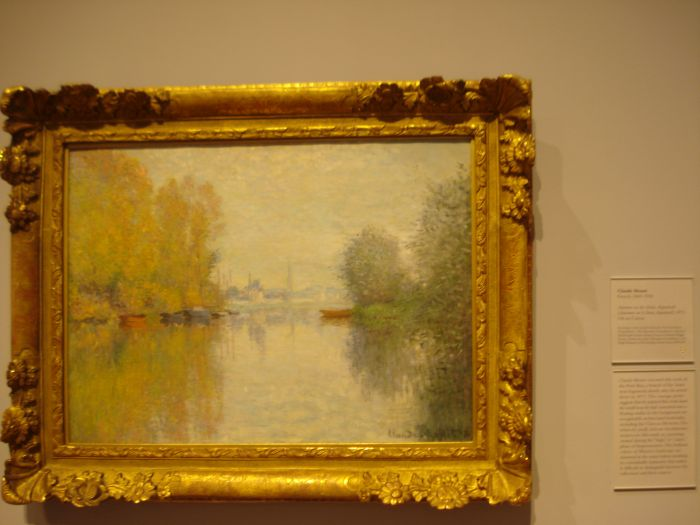 Monet Autumn on the Seine
