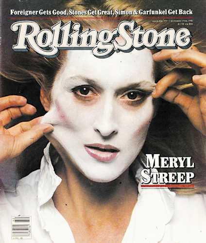 meryl streep rolling stone