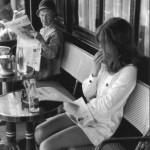 Henri Cartier-Bresson, Brasserie Lipp Paris (1969)