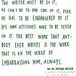 Un gând: Arthur Miller