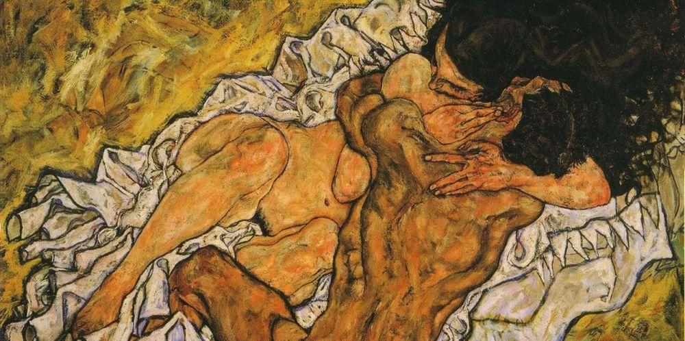 the embrace egon schiele
