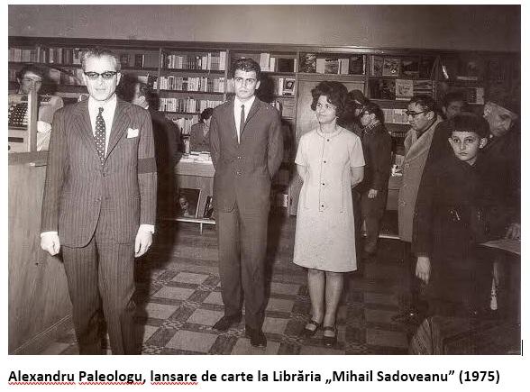 Alexandru Paleologu la Libraria Sadoveanu 1975