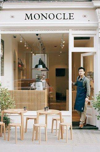 Monocle Café Londra