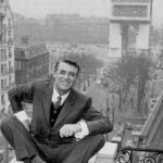 O fotografie: Cary Grant, la Paris