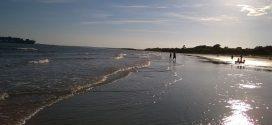 Oceanul Atlantic, în Sullivan's Island: câteva fotografii