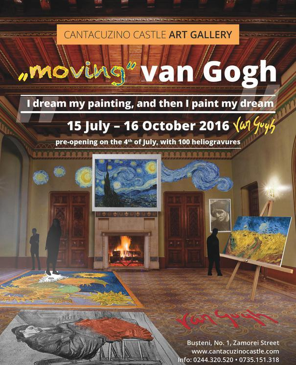 moving van gogh