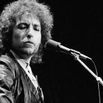 American Singer Bob Dylan during his tour through West Germany at the Dortmunder Westfalenhalle, June 27, 1978. (AP Photo/Proepper)