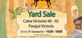 Prima ediție Yard Sale din 2017