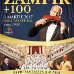 """""""Zamfir+100"""": spectacol la Sala Palatului"""