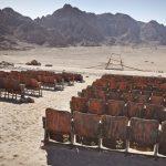 Cinematograful de la capătul lumii, abandonat în Deșertul Sinai