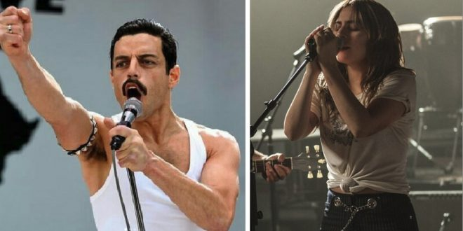 """Bohemian Rhapsody"" vs. ""A Star Is Born"". Thank you for the music!"