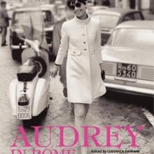 """Coperta cărții """"Audrey in Rome""""."""