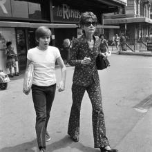 Audrey Hepburn și fiul său, Sean