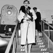 Audrey Hepburn și Mr.Famous