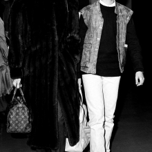 Audrey Hepburn și Luca Dotti
