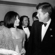 Barbra Streisand și John Kennedy, începutul anilor '60