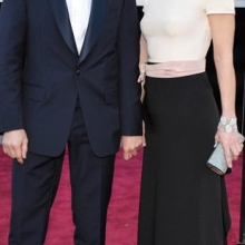 Christoph Waltz si soția sa, Judith Holste