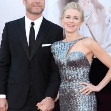 Naomi Watts și soțul ei, Liev Schreiber
