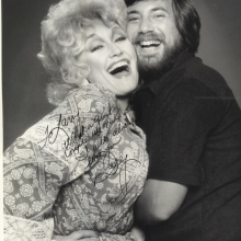 Lawrence Grobel and Dolly Parton