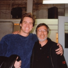 Lawrence Grobel and Jim Carrey