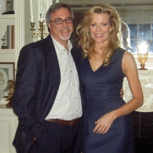 Lawrence Grobel and Kim Basinger