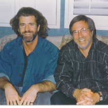 Lawrence Grobel and Mel Gibson