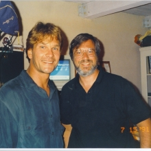Lawrence Grobel and Patrick Swayze