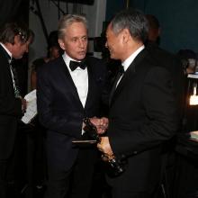 Michael Douglas și Ang Lee