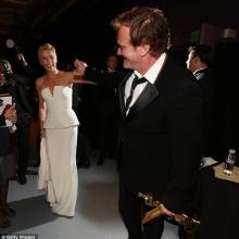 Charlize Theron și Quentin Tarantino