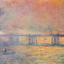 """""""Charing Cross Bridge"""" de Claude Monet"""