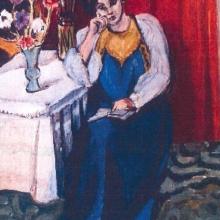 """""""La Liseuse en Blanc et Jaune"""" de Henri Matisse"""