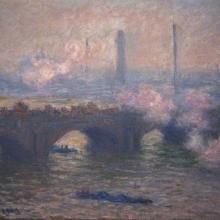 """""""Waterloo Bridge"""" de Claude Monet"""
