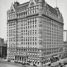 The Plaza Hotel, New York, 1912