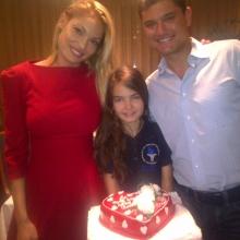 Valentina, Cristian și Ioana Boureanu