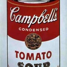 Conserva de supă Campbell - Andy Warhol