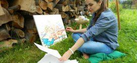 Pictorița Ștefania Nistoreanu expune la Salonul de Artă de la Strasbourg